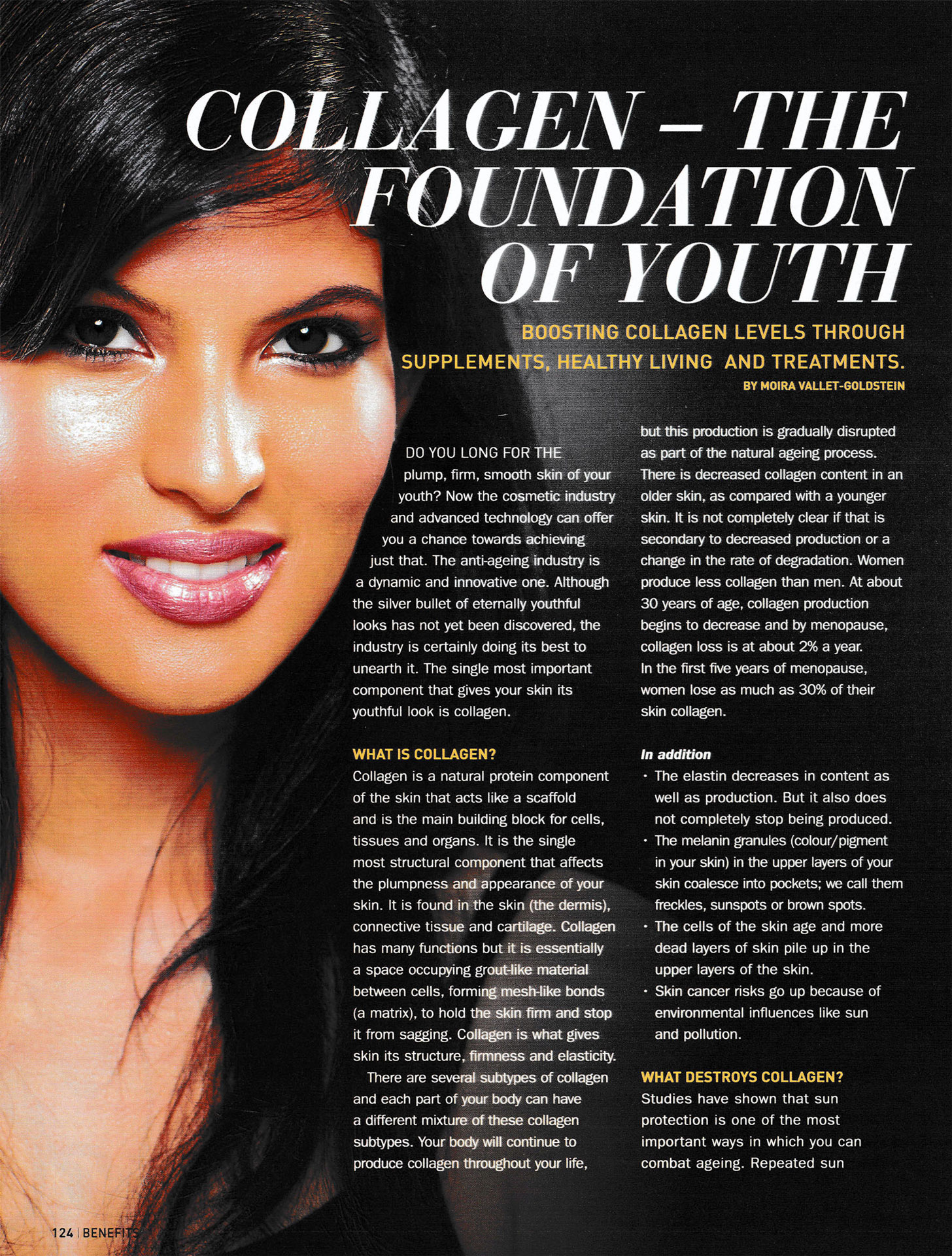 Collagen - The Foundation of Youth | Collagen Lift Paris