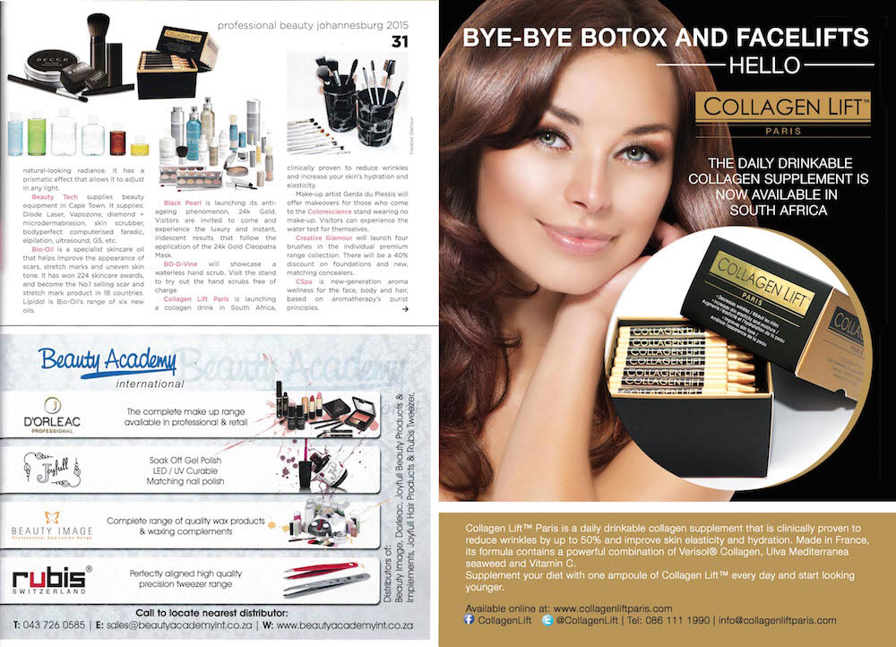Media Release   Professional Beauty   Collagen Lift Paris