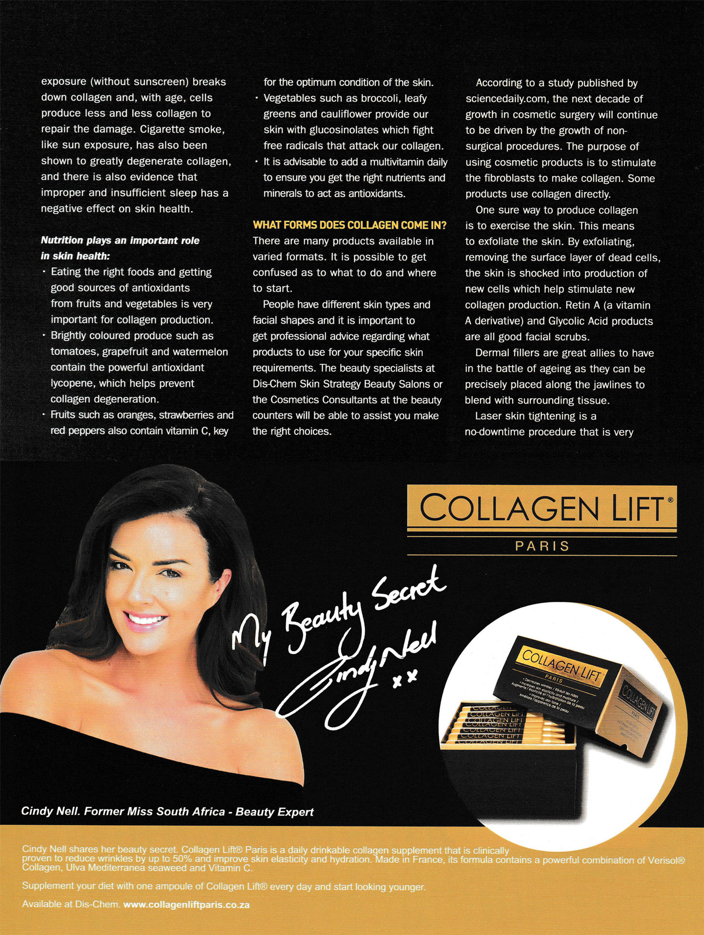 Collagen - The Foundation of Youth   Collagen Lift Paris