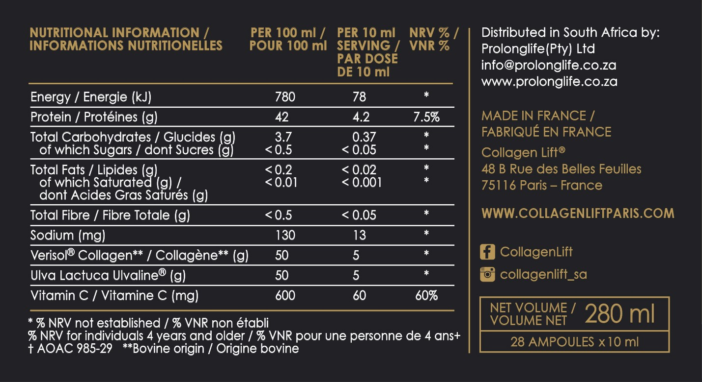 collagen-lift-nitritional-info Collagen Lift 'Black Box'