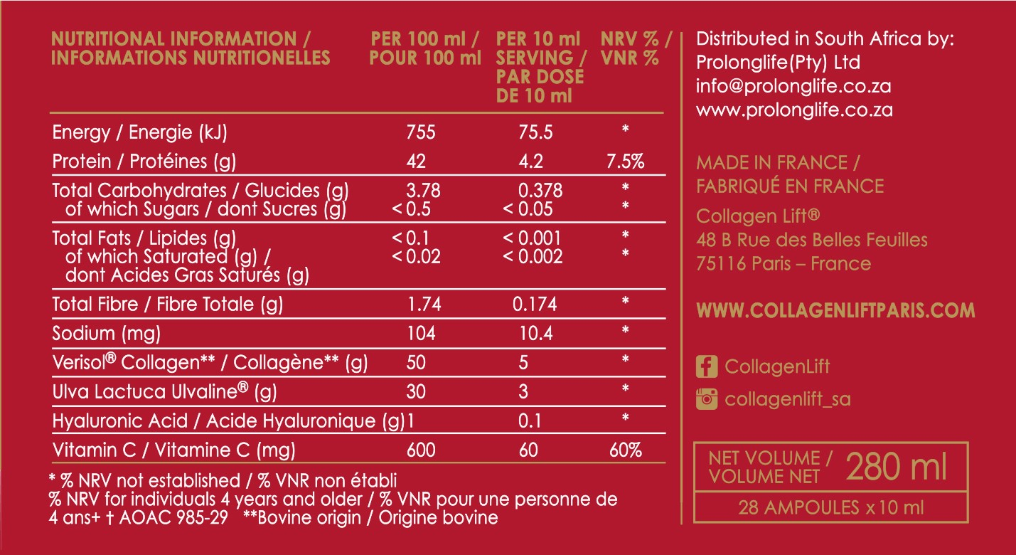 collagen-lift-red-carpet-nutritional-info Collagen Lift 'Red Carpet'