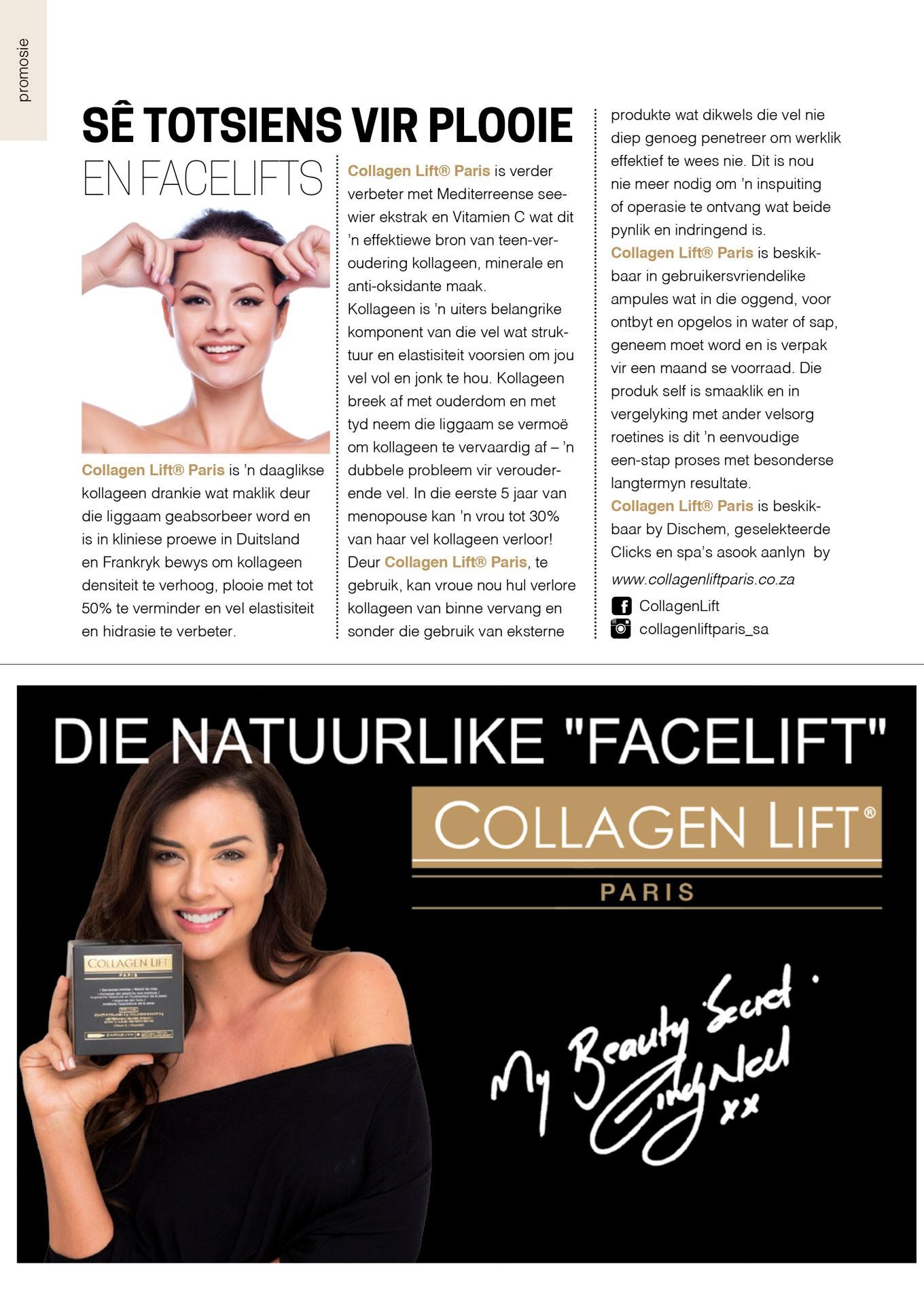 Collagen Media Release